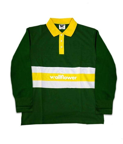 Whethan Wallflower Rugby Polo Long Sleeve Shirt