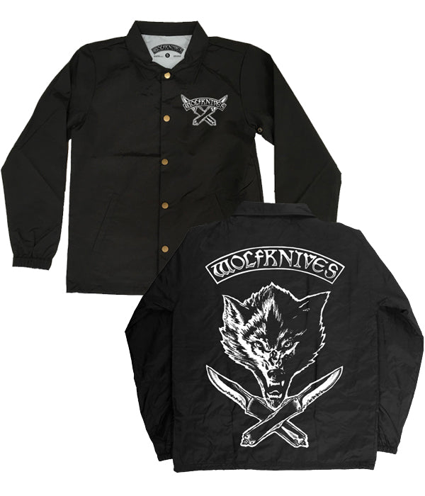 Jason Ellis Wolfknives Coaches Windbreaker Jacket