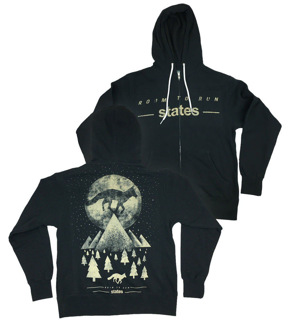 States Room To Run Zip Hooded Sweatshirt