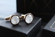 Load image into Gallery viewer, Moonstone Cuff Links