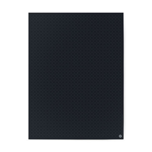 Plakat 30x40 cm | schwarz - dot on