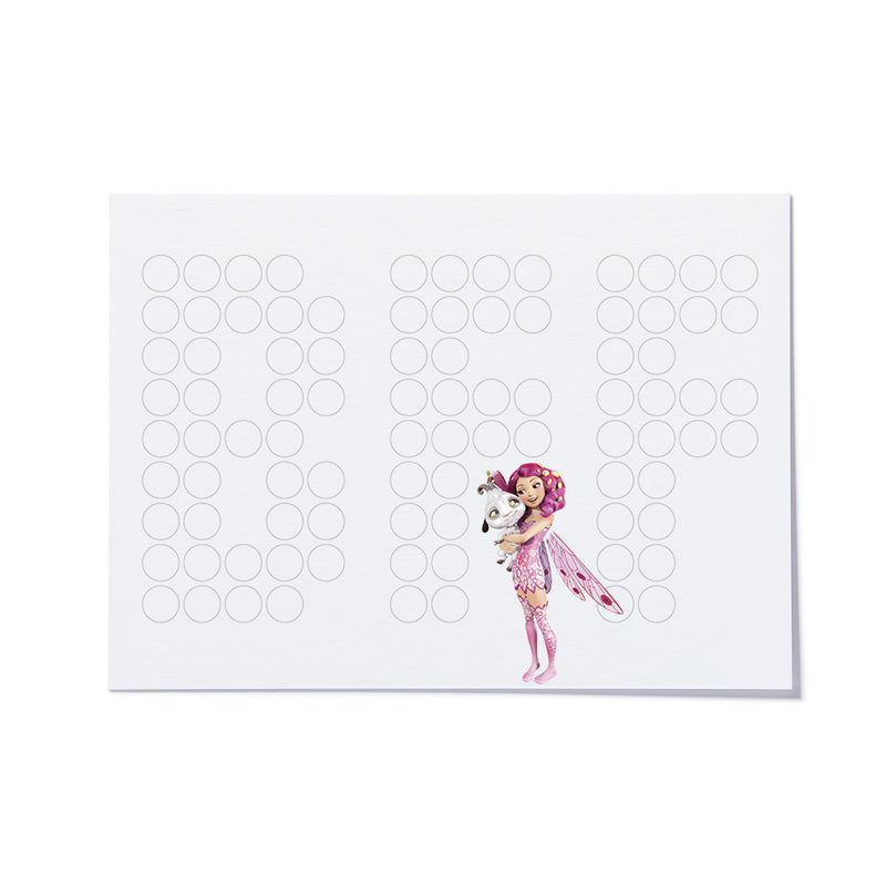 DIY-Postkartenset mit Stickern | Mia & Me | 12,5x16 cm - dot on