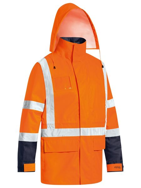 Bisley Hi Vis BioMotion Taped 5-in-1 Combination Jacket