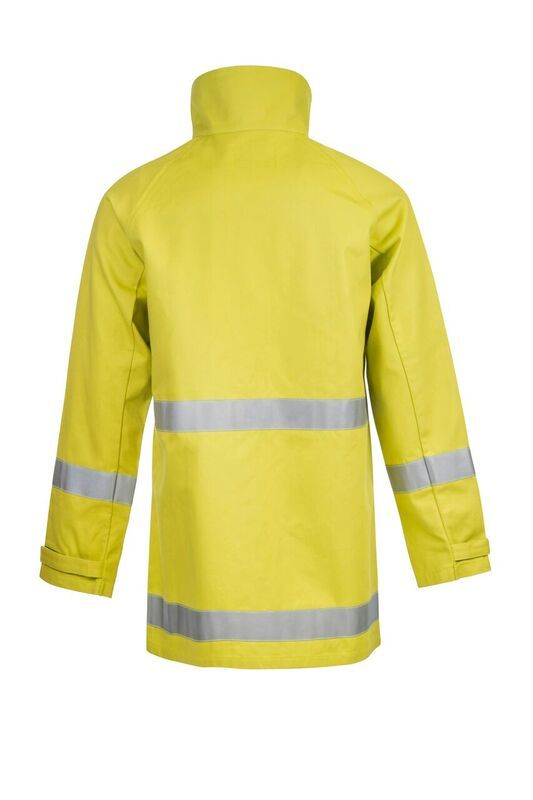 FlameBuster Ranger Wildland Firefighting Jacket with FR Reflective Tape