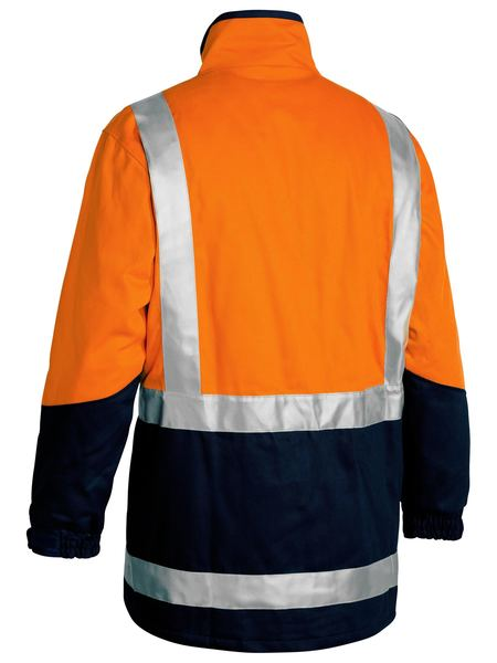 Bisley Hi Vis Taped 3-in-1 Drill Combination Jacket