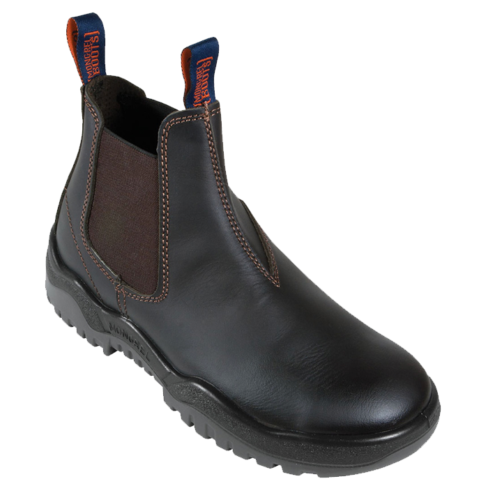 Mongrel V-Cut Elastic Sided Safety Boots - 240090