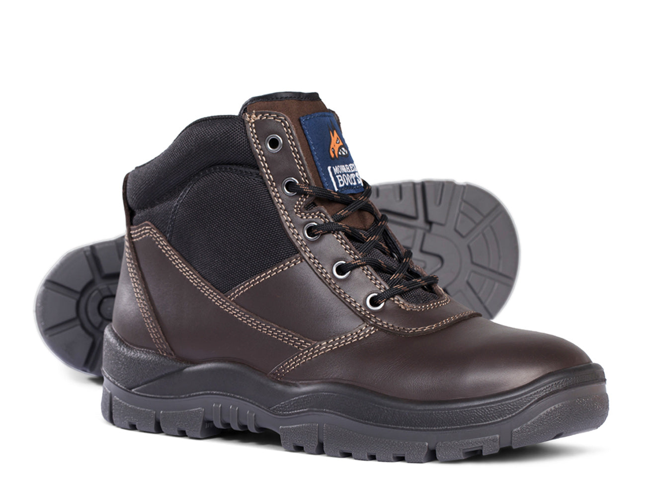 Mongrel Lace Up Safety Boots - 260030