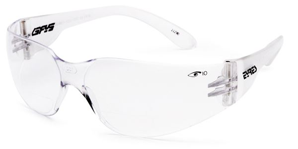 Eyres Clear Bifocal Reader Medium Impact Safety Glasses