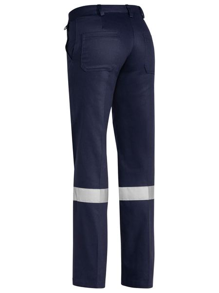 Bisley Women's Taped Original Cotton Drill Pants