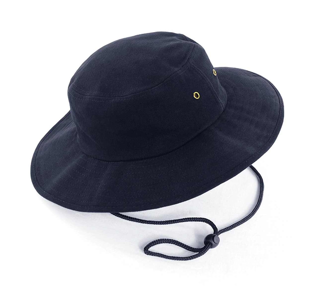 Grace Collection Broad Brim Cotton Sun Hat