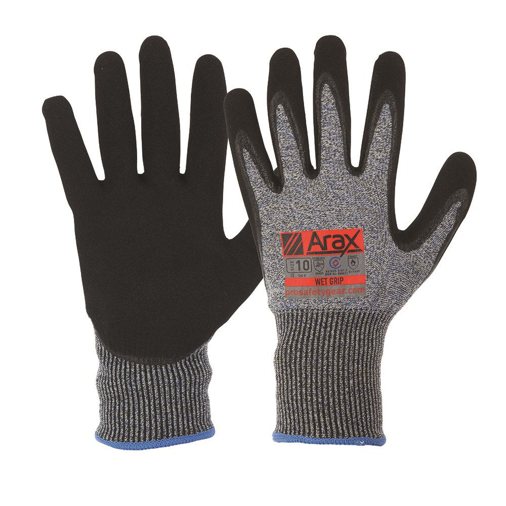 ProChoice Arax Cut Resistant Gloves with Nitrile Dip
