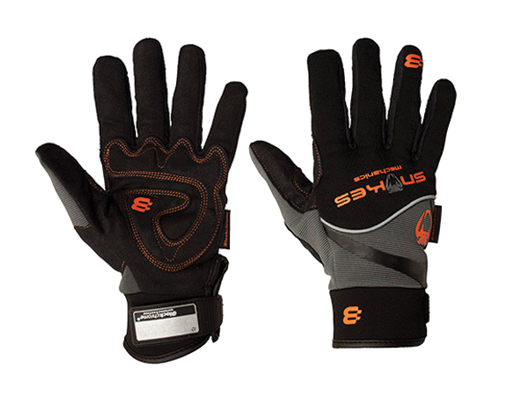 Snakes Mechanics Armorskin Padded Palm Gloves