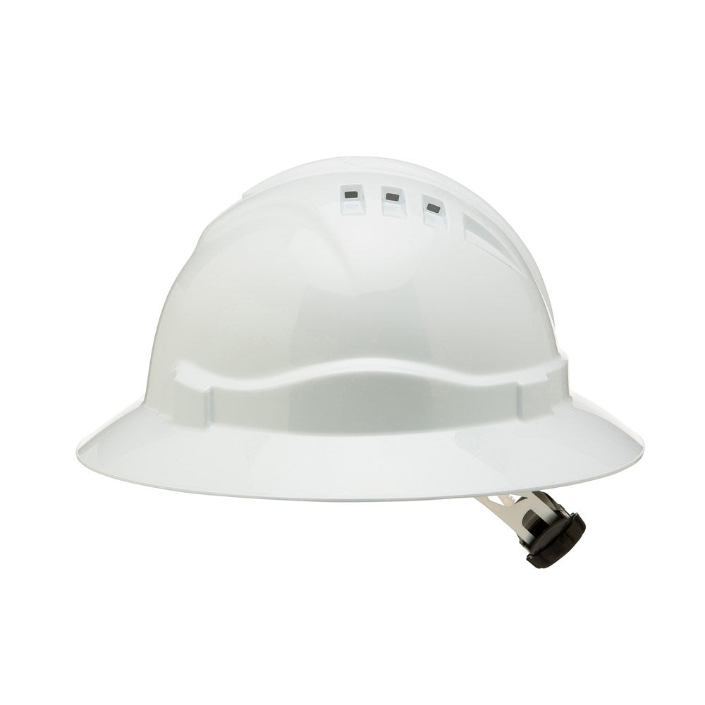 ProChoice V9 Vented Full Brim Hard Hat with Ratchet Harness