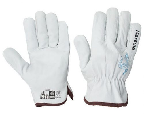 Premium Cowhide Leather Riggers Gloves