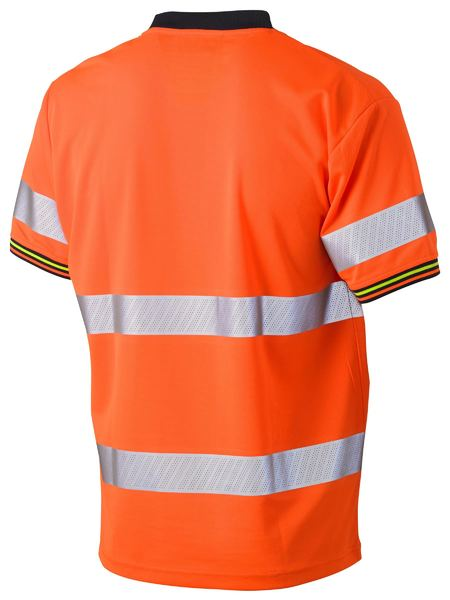 Bisley Hi Vis Taped Cool Mesh T-Shirt - Short Sleeve