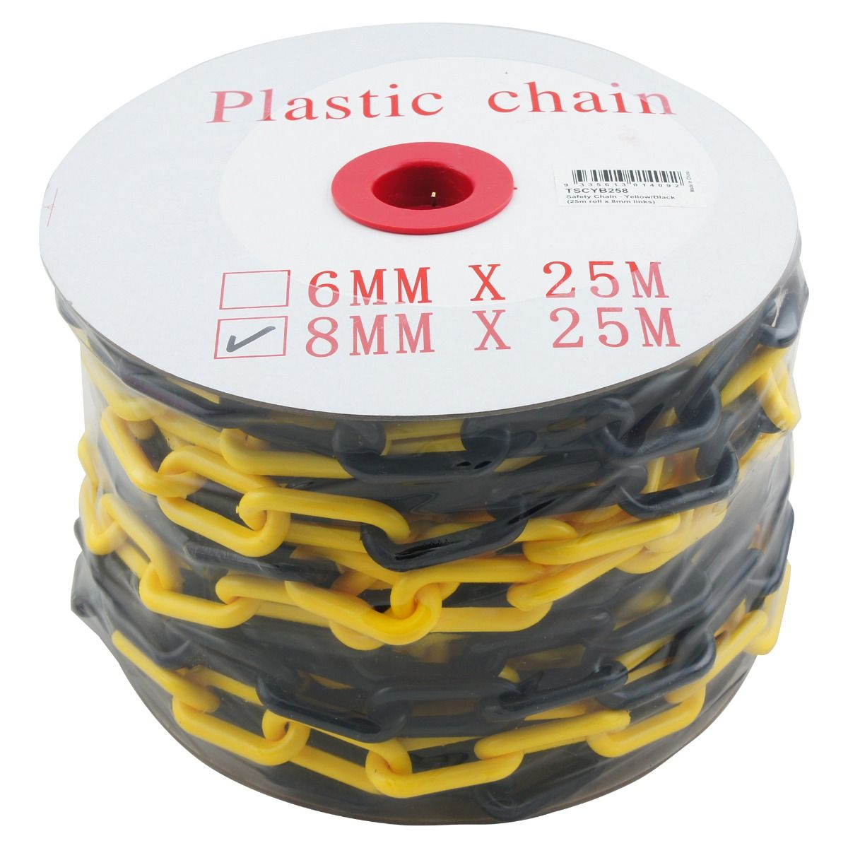 OnSite Plastic Barrier Chain - 25m Roll