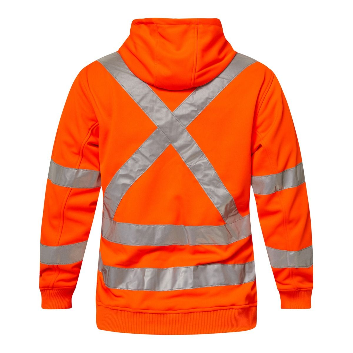 WorkCraft Alpine Hi Vis BioMotion X-Taped Full Zip Hoodie Fleece