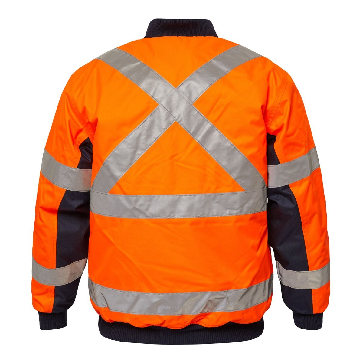 WorkCraft Tempest Hi Vis X-Taped Bomber Jacket