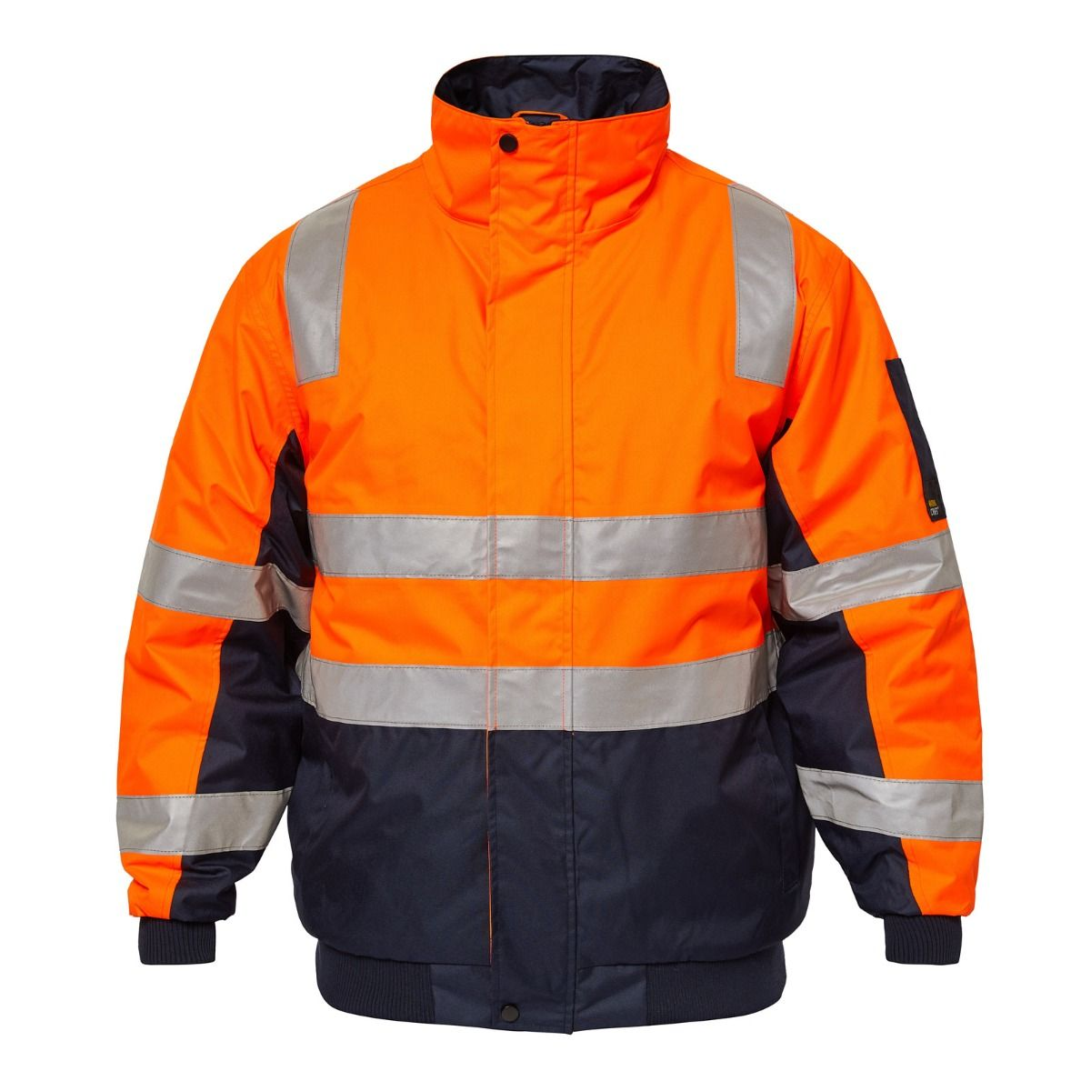WorkCraft Typhoon Hi Vis Taped Bomber Jacket