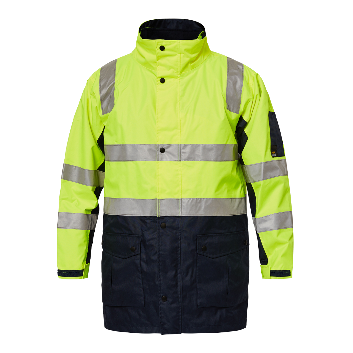 WorkCraft Tornado Hi Vis BioMotion-Taped 4-in-1 Jacket