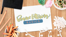 Load image into Gallery viewer, Bounce Lettering Basics e-Course