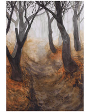 "Load image into Gallery viewer, ""Path"" - Limited 7""x10"" Hand-Signed & Numbered Art Print (25 Only)"