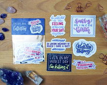 Load image into Gallery viewer, Sassy-Ass Sticker Collection (Die-Cut)