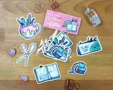 Load image into Gallery viewer, Playful Planning Sticker Collection (Die-Cut)