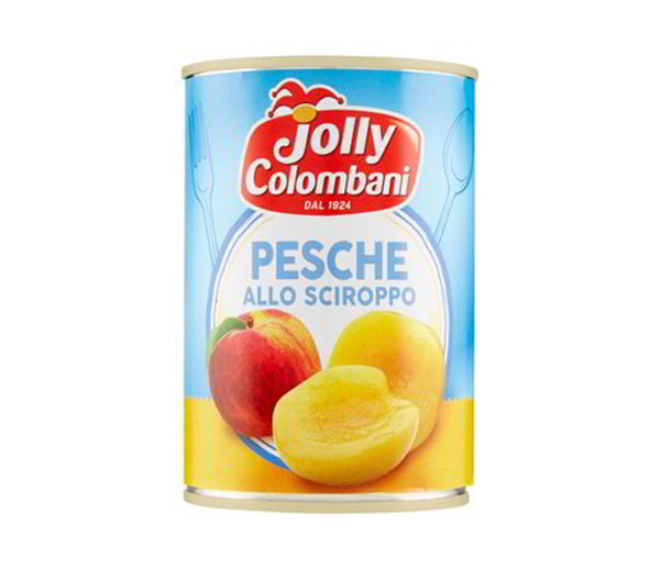 Pesche sciroppate gr.411 jolly