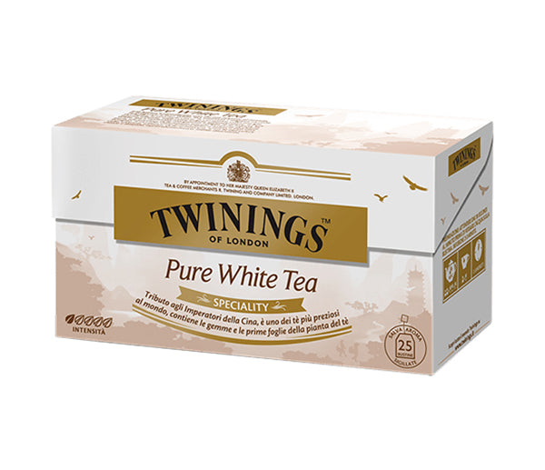 The twining pure white tea bianco 25 f.