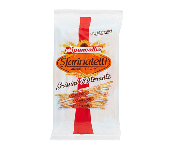 Grissini sfarinatelli rist. 20x12gr.panealba