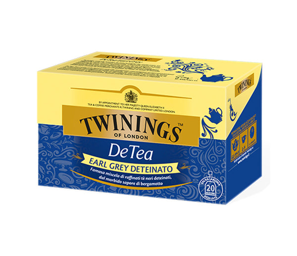 The twining earl grey deteinato 20 f.