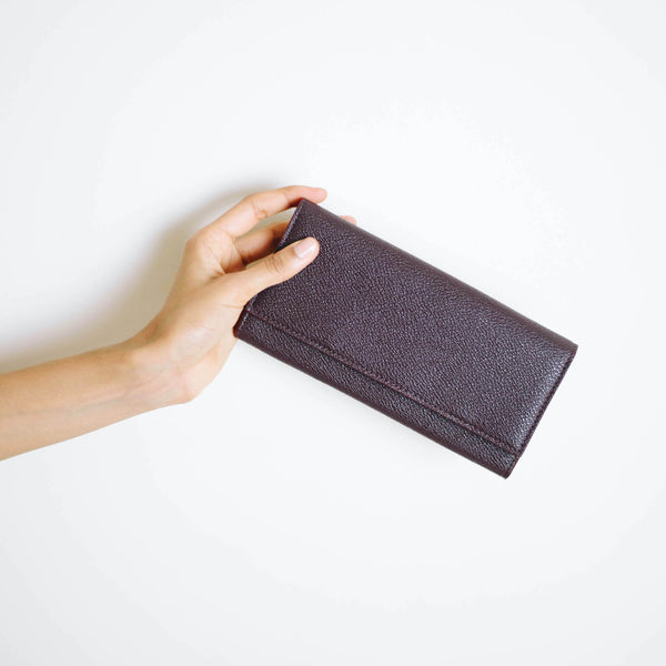 Esther Continental AppleSkin™ Wallet - Burgundy