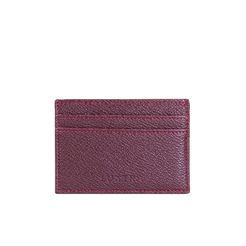 AppleSkin™ Card Holder - Burgundy