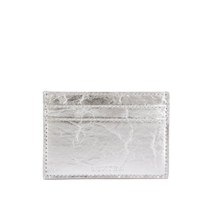Pinatex™ Card Holder - Silver