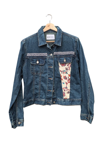 "Ånyo ""Faith"" Embellished Denim Jacket"