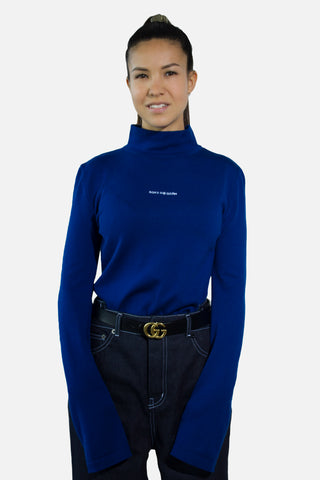 Merino Wool Knitted Turtleneck Wos