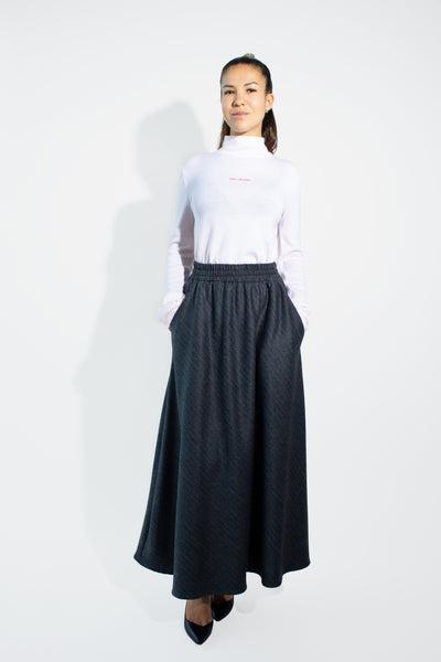 Easy Wool Skirt Wos
