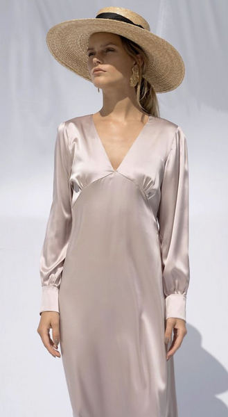 Alison Long Silk Dress