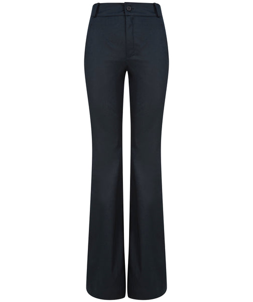 Bootcut Trousers - Black