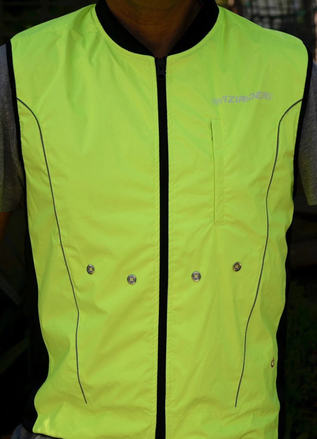 LED Cycling Gilet Original