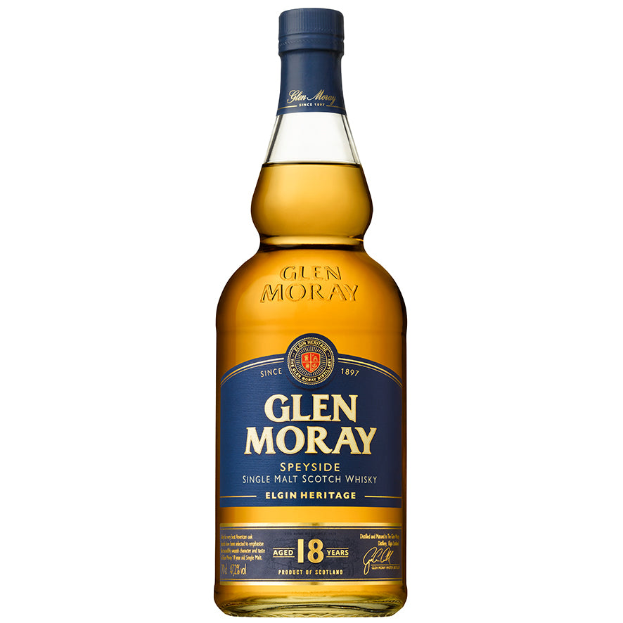 Glen Moray Single Malt 18 Years - 47,2%