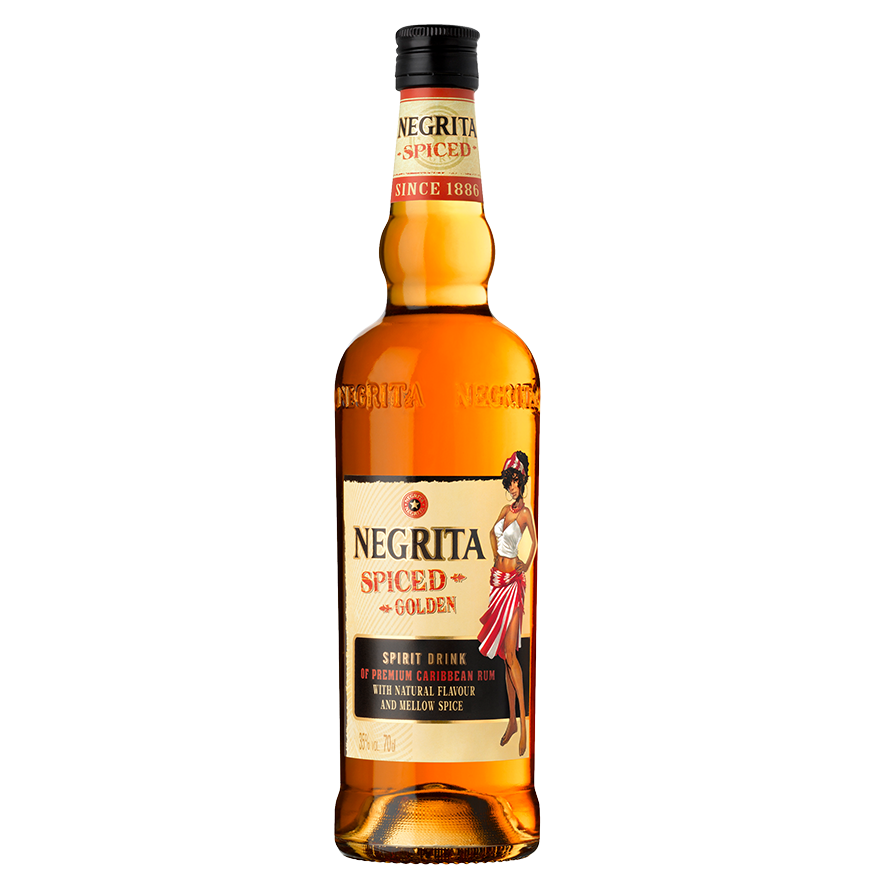 Rhum Negrita Spiced Golden - 35%