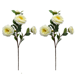 Artificial Flower Rose Sticks ( single piece ) without pot