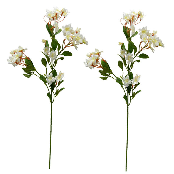 Artificial Jasmine Flower Sticks ( single piece ) without pot - Fancy Mart