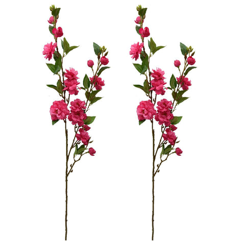 Artificial Balsum Flower Sticks( single piece ) without pot