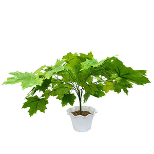 Artificial Plant Green Mapple DT without Pot - Fancy Mart