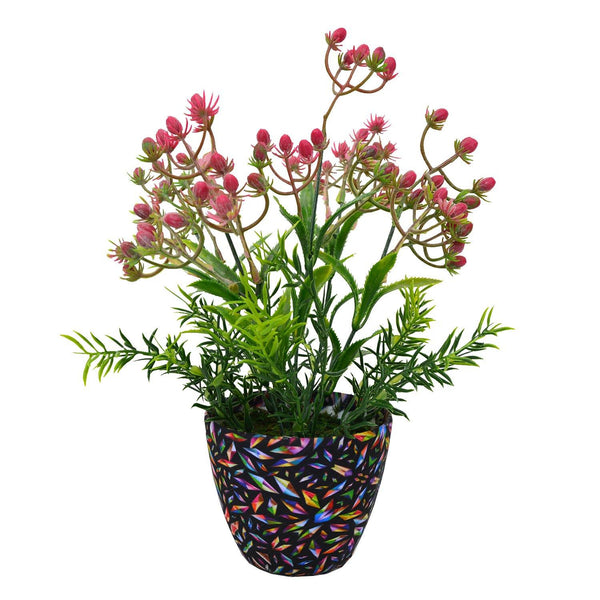 Artificial Milk Weed in Texture Pot - Fancy Mart