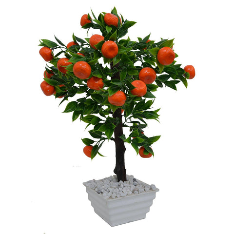 Artificial Bonsai Fruit Tree with Pot