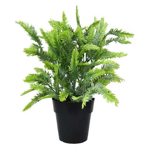 Artificial Dawn Redwood Plant in Round Pot